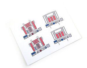 CUSTOM DIE CUT STICKERS For STAR WARS VINTAGE RD RD IN - Star wars custom die cut stickers