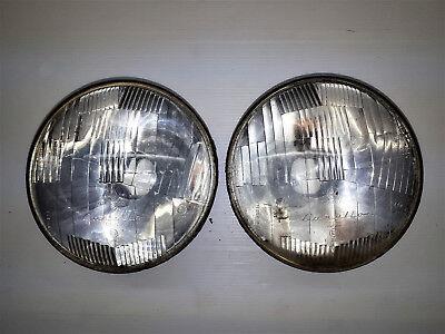 2 Faro Fanale Ant. Front Light Carello 07.480.700 Fiat Lancia Alfa Romeo Epoca Per Farti Sentire A Tuo Agio Ed Energico