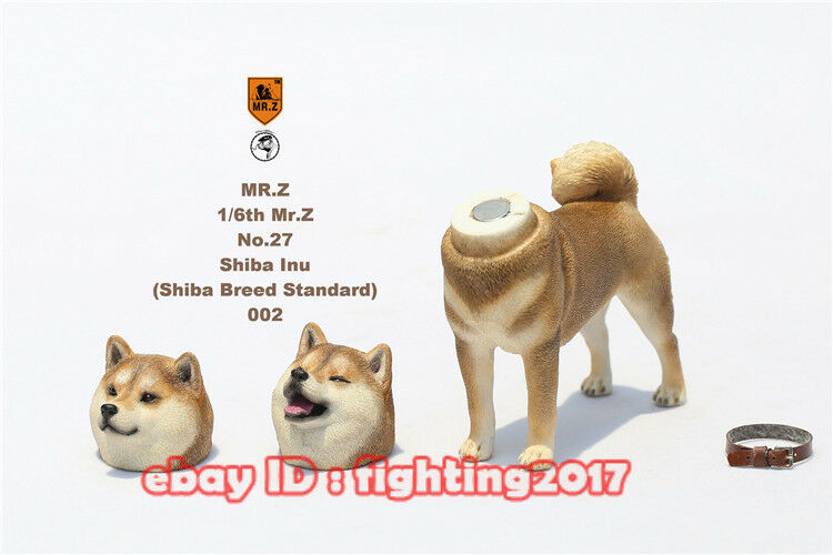 Mr Z Animal Model Model Model 1 6 MRZ Shiba Inu No 027 W