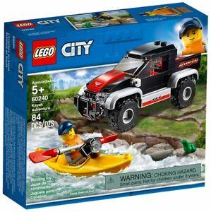 Lego-City-60240-L-039-aventure-en-kayak-NEUF