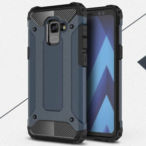 For Samsung Galaxy S9 A8 Plus 2018 Case Shockproof Hybrid Armor Protective Cover