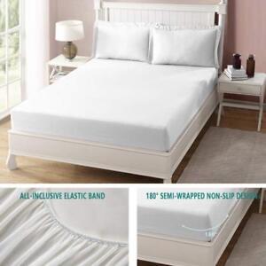Queen-Size-Mattress-Cover-Protector-Bed-Waterproof-Pad-Hypoallergenic-Topper