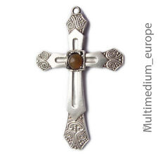 Art Deco Silber Kreuz Anhänger 800 silver cross pendant Fahrner Ära