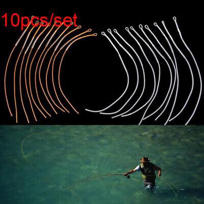 Fliegenfischen Geflochtene Schnur Loop Connector Leader Loops 50LB 30 LB 20 LB
