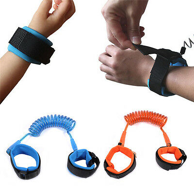 Toddler Child Kid Anti-lost Safety Wrist Link Harness Strap Rein Rope Belt