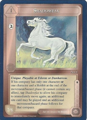 MECCG Middle-earth Shadowfax The Wizards Unlimited TWUL Middle earth LOTR NM