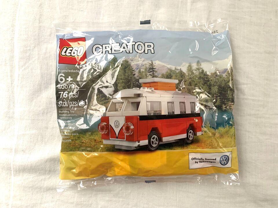 Lego Creator, LEGO Creator Mini VW T1 Camper Van 40079