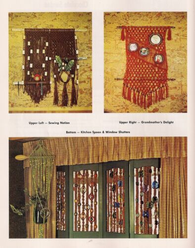 Macrame Plant Hangers #J100 To Knot or Not to Knot 12 Variations Craft Book