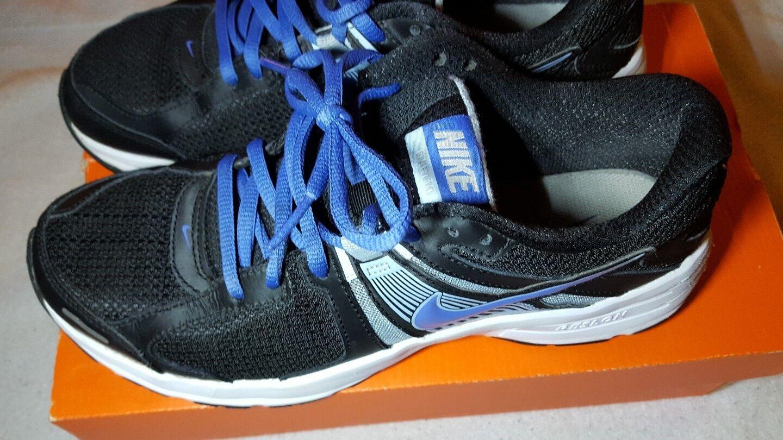 Nike Women's Dart 10 Running Training Shoes Black/Blue Comfortable best-selling model of the brand