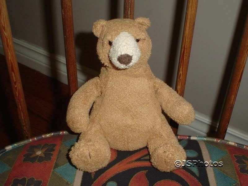 Russ Berrie Bubba Bear Suedelike Handmade    3055