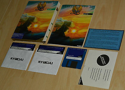 ANCIENT LAND OF YS by Kyodai ~ IBM PC DOS ~ OVP/BIG boxed COLLECTIBLE ~ english
