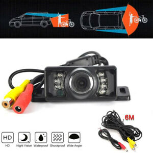 170-CMOS-Car-Reverse-Rear-View-Backup-Camera-7-IR-Night-Vision-Parking-Cam-Cx