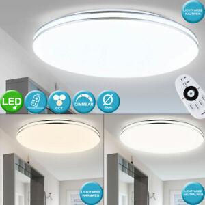 LED Decken Lampe Dimmer Fernbedienung Schlaf Gäste Zimmer Tages Licht Leuchte