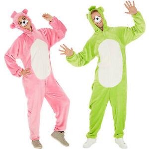 l'ultimo f3672 35021 Dettagli su Costume da Orso Uomo Donna Unisex Kigurumi Pigiama Animale  Carnevale Halloween n
