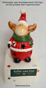 Kaffee-zum-Fest-200-g-mit-LED-Figur-Weihnachts-Elch