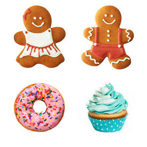 Dekokissen-Kissen-Lebkuchenfrau-Lebkuchenmann-Donut-Muffin-Ananas-Einhorn-Eule