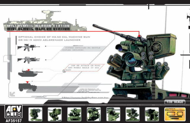 AFV Club 1/35 M151 Remote Weapon Station RWS 35157