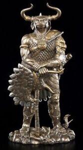 Large-Bronze-Standing-Minotaur-Statue-Ornament-Greek-Mythology-Bull-Impressive