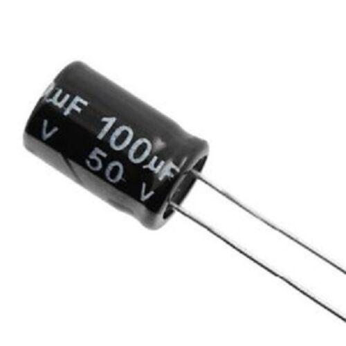 Electrolytic Capacitors 100uF 50V Nippon Chemi-con UK Seller