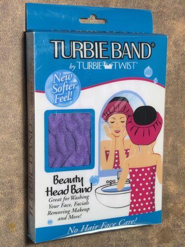 Turbie Band By Turbie Twist Beauty Head Wrap No Hair In Face Care Softer Purple