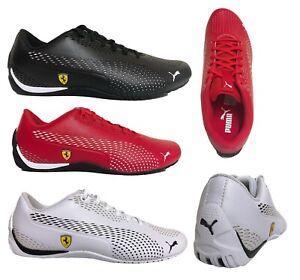 PUMA-SCUDERIA-FERRARI-Sport-Car-Fan-Drift-Cat-5-Ultra-II-Men-039-s-Shoes-Sneakers
