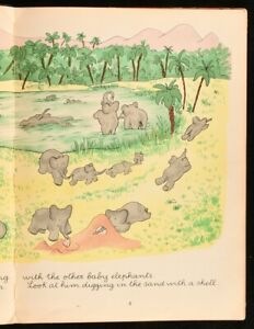 The Story of Babar the Little Elephant read aloud - YouTube