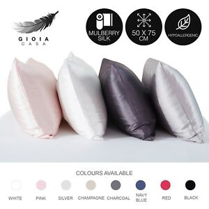 Gioia-Casa-100-Mulberry-Silk-Pillowcase-Cover-Standard-Smooth-Beauty-Care-1-Pc