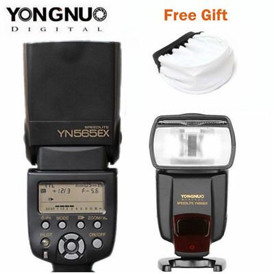 Yongnuo YN-565EXIII E-TTL Flash Speedlite w Remote for 750D 77D 800D 60D 70D 80D