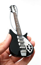 "Miniature Guitar The Beatles John Lennon 6"" Christmas Ornament SuperMini"