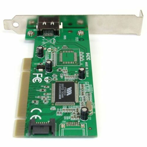 Startech PCIESATA2I 1x eSATA 1x SATA PCI Controller with Low Profile Bracket