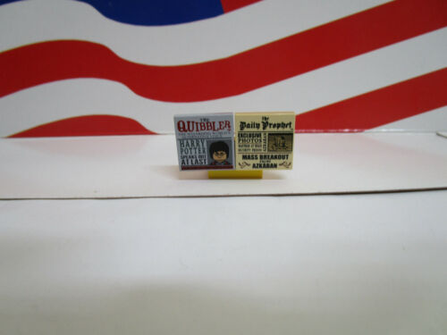 1 SET THE DAILY PROPHET /& THE QUIBBLER TILES SET 4841 LEGO HARRY POTTER CASTLE