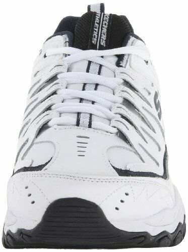 Skechers 50127 Men/'s After Burn Memory Fit Reprint Training Shoes White