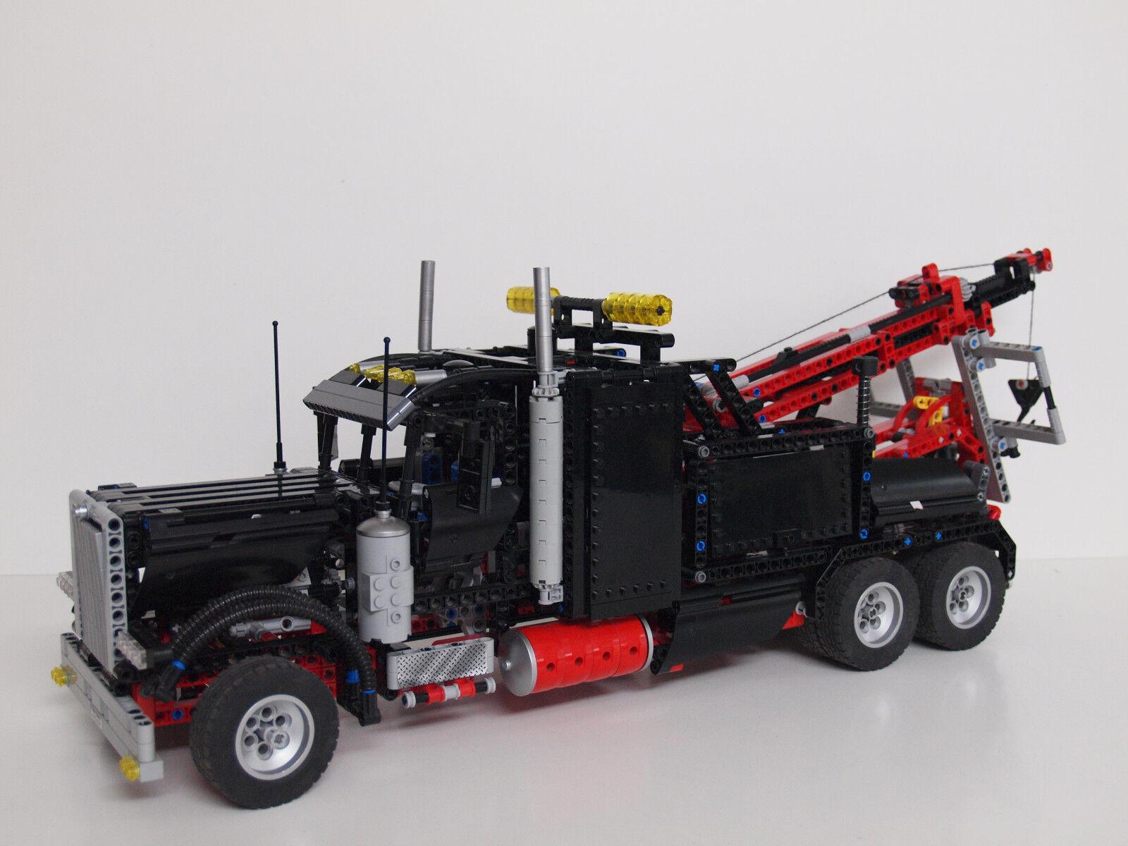 LEGO Technik großer schwarzer Abschlepptruck  LKW (8285) von 2006 2 in 1