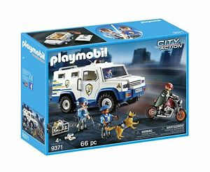 PLAYMOBIL-Vehiculo-Blindado-9371