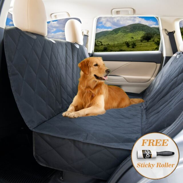 YoGi Prime Dog Car Seat Cover For Large Dogs Heavy Duty Hammock Waterproof
