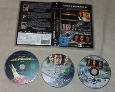3 DVD Armageddon - Das Jüngste Gericht Pearl Harbor Con Air N.Cage B.Willis 94