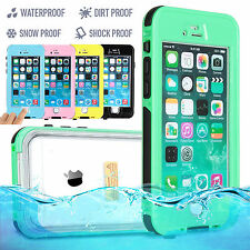 FOR APPLE iPHONE 6 7 & 7 PLUS WATERPROOF SHOCKPROOF DIRT PROOF CASE COVER