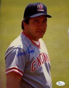 Johnny-Bench-Jsa-Cert-1-1-Original-Image-8x10-Photo-Authentic-Autograph