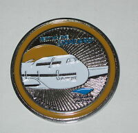 State Of Kuwait 2015 Boeing 747-8 Setting The Standard Coin Medallion