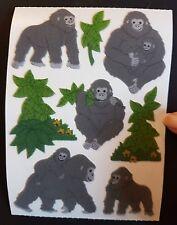 ❤ Sandylion Sticker ❤ für's Stickeralbum Kindheit 80er/90er Jahre stoff Gorilla