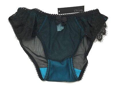 Love Claudette En Dentelle Bikini Panties Briefs Panty Hot Lingerie Cameo Blue