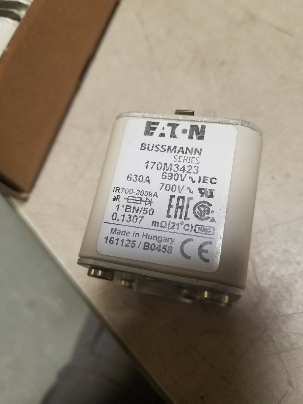 Eaton Bussmann 170m3423 630 Amp 690v Square Fuse 1bn 50 Ebay Antique 30 Box Norton Secured Powered By Verisign