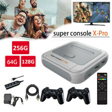 Super Console-X Pro 4K HDMI WiFi Retro HD TV Video Game Console with 64/128/256G
