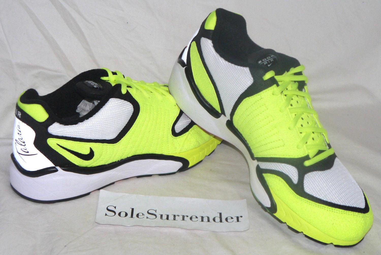 Nike Air Zoom Talaria '16 - SIZE 10 - NEW - 844695-700 Retro Volt Black Silver