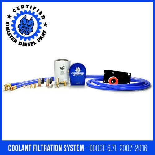 Sinister Diesel Coolant Filtration System for Dodge Cummins 6.7L 2007.5-2012
