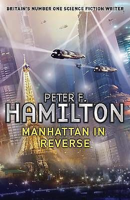 """Manhattan in Reverse"" by Peter F. Hamilton (Large Paperback, 2011)"