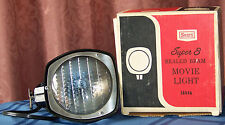 Sears Super 8 Sealed Beam Movie Light - 650 Watts model 8846