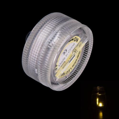 led submersible light battery waterproof underwater pool pond lighBB