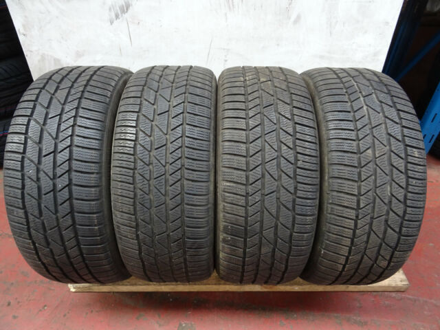 4x 225 45 17 **6mm+** Continental ContiWinterContact TS830P (94V) XL Tyres (4)