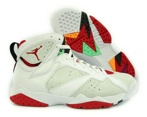 b50bc901e00403 304775-125 Air Jordan 7 Retro (White   True Red   Silver) Men ...